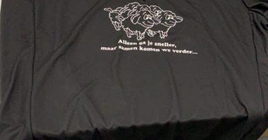 Het is eindelijk zover: onze The Black Sheep Foundation wielrentenue!!!